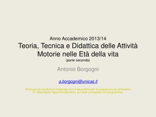 Antonio Borgogni a.borgogni@unicas.it