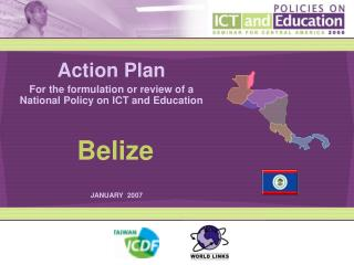 Action Plan For the formulation or review of a National Policy on ICT and Education