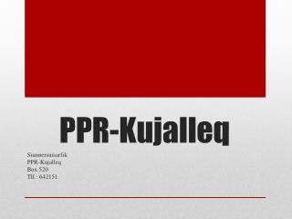 PPR-Kujalleq