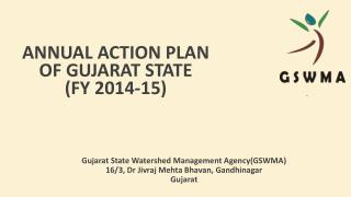 Annual Action Plan of Gujarat State (FY 2014-15)