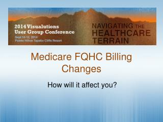 Medicare FQHC Billing Changes