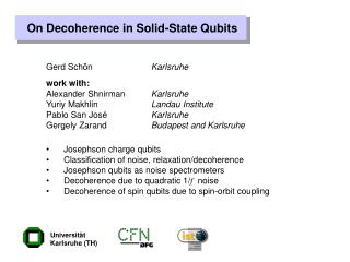 On Decoherence in Solid-State Qubits