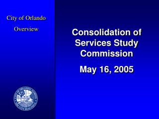City of Orlando Overview