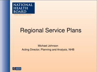 Regional Service Plans