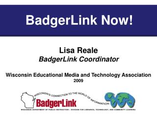 BadgerLink Now!