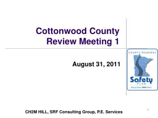Cottonwood County Review Meeting 1