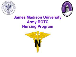 James Madison University  Army ROTC  Nursing Program