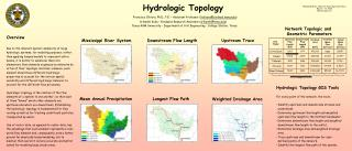 Hydrologic Topology