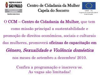 Centro de Cidadania da Mulher Capela do Socorro