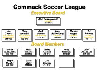 Commack Soccer League