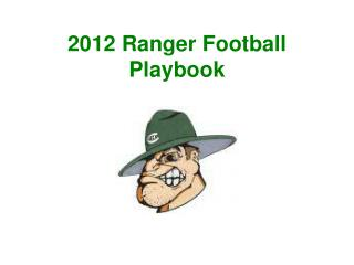 2012 Ranger Football Playbook