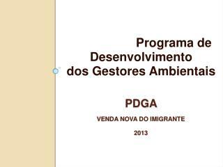 PDGA Venda Nova do Imigrante 2013