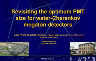 Revisiting the optimum PMT size for water-Cherenkov megaton detectors