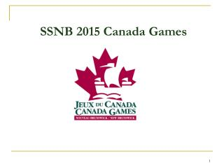 SSNB 2015 Canada Games