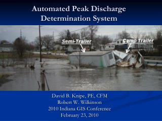 Automated Peak Discharge  Determination System
