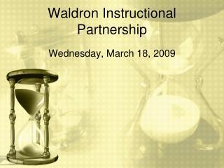 Waldron Instructional Partnership