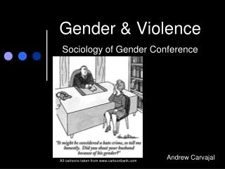 Gender & Violence  Sociology of Gender Conference