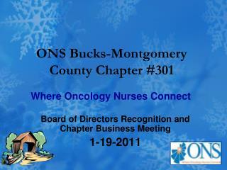 ONS Bucks-Montgomery County Chapter #301