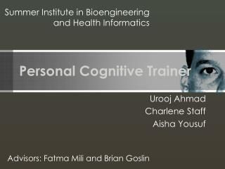 Personal Cognitive Trainer
