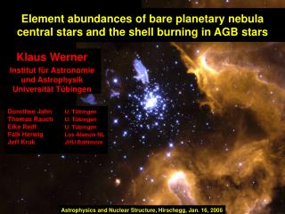 Element abundances of bare planetary nebula central stars and the shell burning in AGB stars
