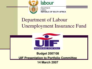 Department of Labour Unemployment Insurance Fund