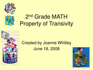 2 nd  Grade MATH Property of Transivity