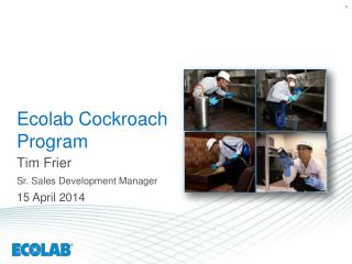 Ecolab Cockroach Program