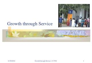 Growth through Service
