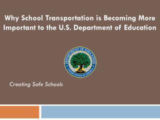 Creating Safe Schools
