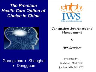 The Premium Health Care Option of Choice in China