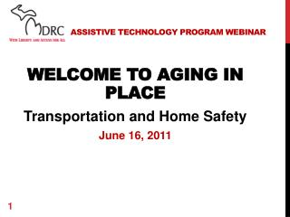Assistive  Technology Program  Webinar