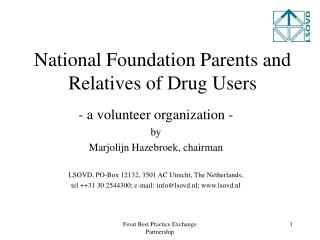 National Foundation Parents and Relatives of Drug Users