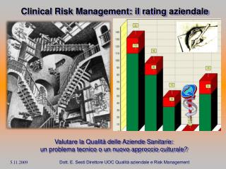 Clinical Risk Management: il rating aziendale