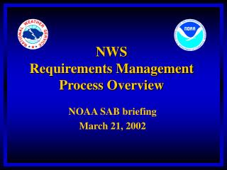 NWS  Requirements Management  Process Overview