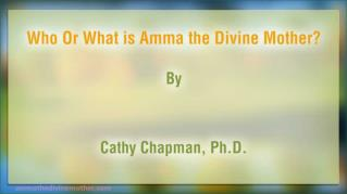 ppt 40160 Who Or What is Amma the Divine Mother