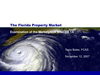 The Florida Property Market