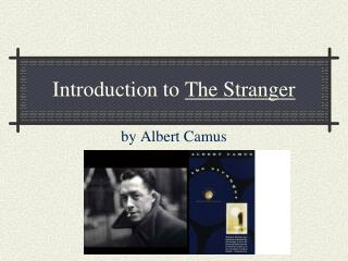 Introduction to The Stranger