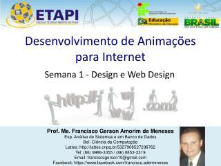 Desenvolvimento de Animações para Internet