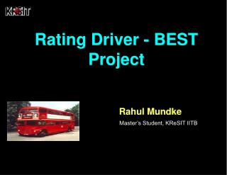 Rating Driver - BEST Project