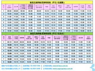 基隆汽車客運股份有限公司 │ 服務專線 02-2432-3185 │ 全球資訊網址 kl-bus.tw
