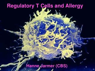 Regulatory T Cells and Allergy