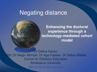 Negating distance