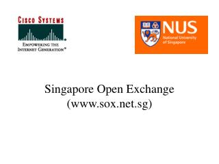 Singapore Open Exchange  (www.sox.net.sg)