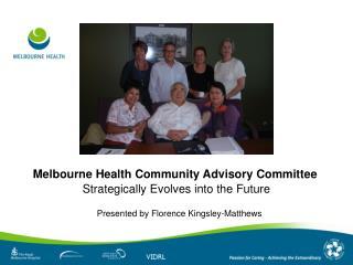 Melbourne Health Community Advisory Committee