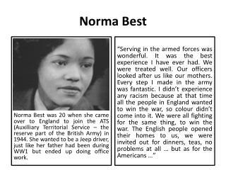 Norma Best