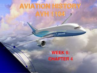 AVIATION HISTORY AVH 1104