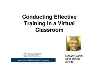 Conducting Effective Training in a Virtual Classroom