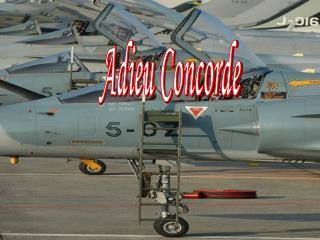 Adieu Concorde