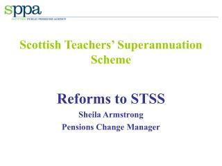 Scottish Teachers' Superannuation Scheme