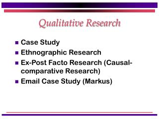 qualitative research ethnographic research the aspect of thick Grounded theory and ethnography are suggested here to be highly compatible, as ethnographic studies can provide the thick handbook of qualitative research.